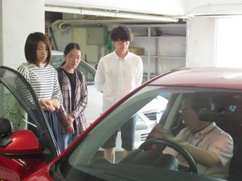 教習車両の説明